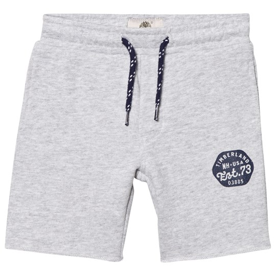 Timberland Grey Branded Sweat Shorts A32