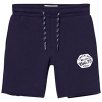 Timberland Navy Branded Sweat Shorts 85T