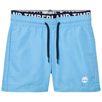 Timberland Blue Branded Waistband Swim Shorts 838
