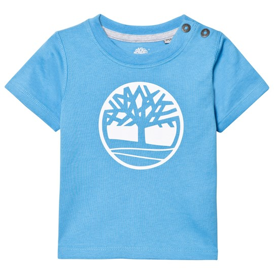 Timberland Pacific Blue Branded Tree Logo Tee 838