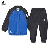 adidas Blue Black Messi Tracksuit UTILITY BLACK