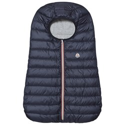 Moncler Navy Blue Down Padded Baby Nest