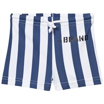The BRAND Swim Shorts Blue Stripe Blue Stripe