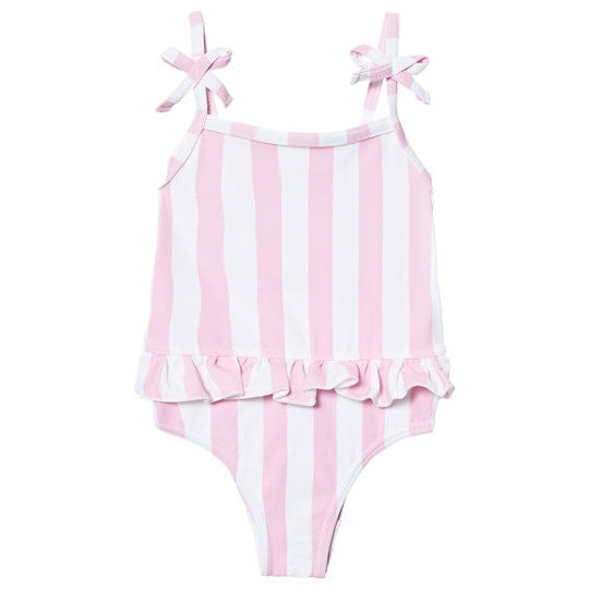 The BRAND Swim Suit Pink Stripe Pink Stripe