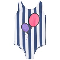 The BRAND Hbd Swim Suit Blue Stripe Blue Stripe