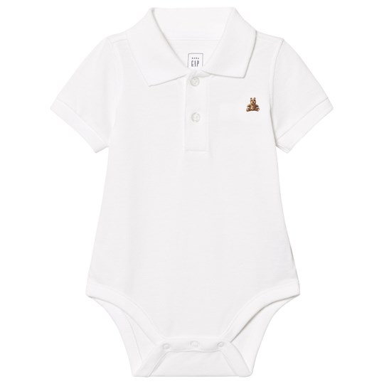 Gap Brannan Piké Baby Body Vit White