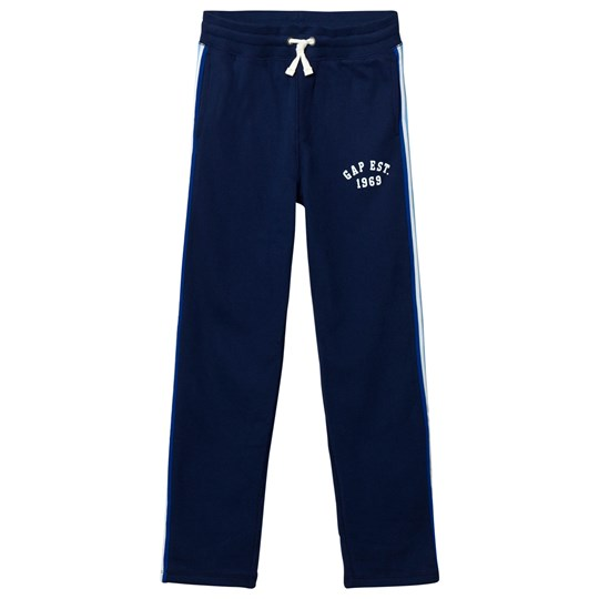 GAP Slim Side-Stripe Sweats Elysian Blue ELYSIAN BLUE