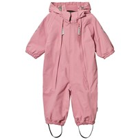 Mikk-Line Nylon Solid Baby Rain Suit Dusty Rose Dusty Rose