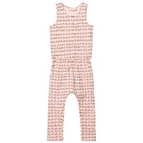 Soft Gallery Serpentine Jumpsuit Scallop Shell Scallop Shell, AOP Volcano