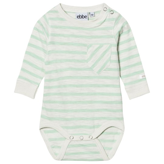 ebbe Kids Deli Baby Body Offwhite/Ever Green Offwhite/Ever green