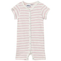 eBBe Kids Dallas Randig Romper Off White/Peachy Pink Offwhite/Peachy pink stripe