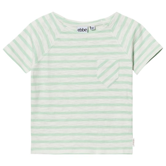 ebbe Kids David T-Shirt Off White/Ever Green Offwhite/Ever green