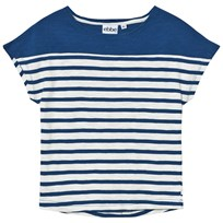 eBBe Kids Doria Tee Off White/Seaside Blue Stripe Offwhite/Seaside blue stripe