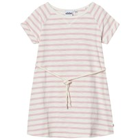 eBBe Kids Daphne Dress Off White/Peachy Pink Stripe Offwhite/Peachy pink stripe