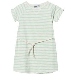 ebbe Kids Daphne Dress Off White/Ever Green