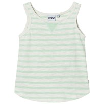 eBBe Kids Dimona Tanktop Off White/Ever Green Offwhite/Ever green