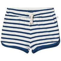 eBBe Kids Daisy Shorts Off White/Seaside Blue Stripe Offwhite/Seaside blue stripe