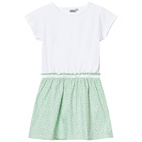 eBBe Kids Cazine T-Shirt Dress Green Feathers Green feathers