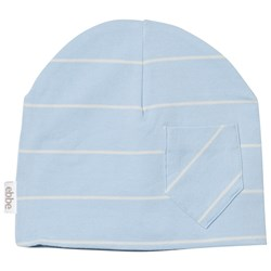 ebbe Kids Extra Mössa Pale Sky /Off White Stripe