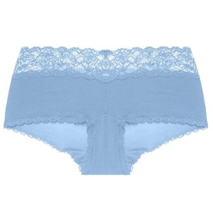 Image of Cosabella Maternity Never Say Never Maternity Hotpant Sorrento Blue L (698172)