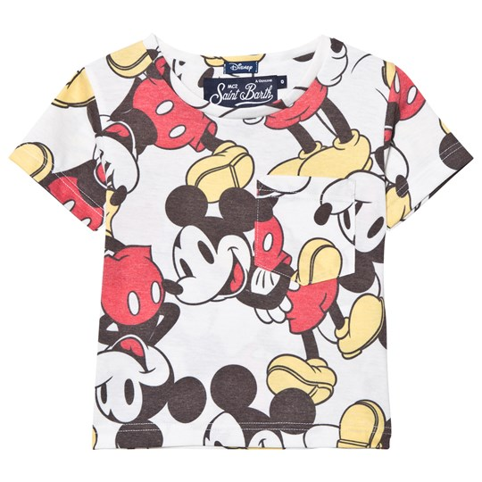 MC2 St Barth Mickey Mouse Allover Print T-shirt MICKEY SMILE