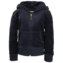 Juicy Couture Hoodie VLR Blue Glitter