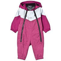 Lindberg Billdal Baby Coverall Deep Orchid Purple