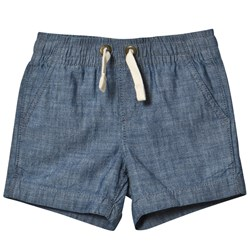 Lands' End Pull On Woven Shorts Blå