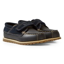 Timberland Navy Pokey Pine H L Oxford Stretch Toddler Shoes Navy Galloper