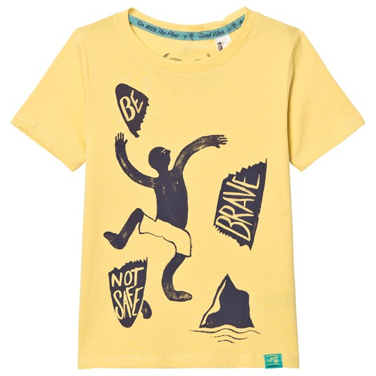 Oneill Yellow Good Vibes Tee DUSTY CITRON
