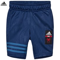adidas Navy Spiderman Shorts MYSTERY BLUE