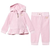 Juicy Couture Pale Pink Embroidered Heart Tracksuit GOSSAMER PINK
