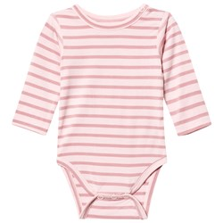 Hust&Claire Striped Baby Body Bamboo Rose Tan