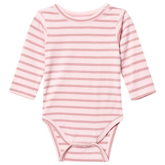 Hust&Claire Striped Baby Body Bamboo Rose Tan Rose Tan