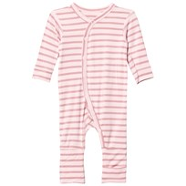 Hust&Claire Striped Jumpsuit Bamboo Rose Tan Rose Tan