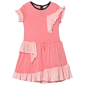 Image of No Added Sugar Pink Frill Detail Jersey Dress 11-12 years (3031529753)