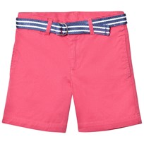 Ralph Lauren Classic Chino Shorts med Bälte Coral 003
