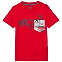 Hurley Gym Red Pocket Play Tee R78