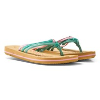 Oneill Pink Ditsy Flip Flops SEA PINK