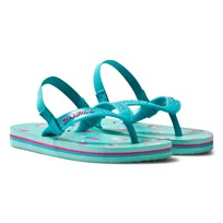 Oneill Green Infants Lollipop Print Moya Flip Flops GREEN AOP
