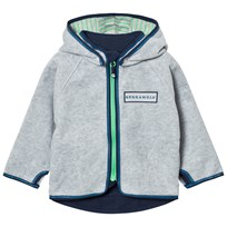 Geggamoja Fleece Jacket Grey Melange Grey Melange