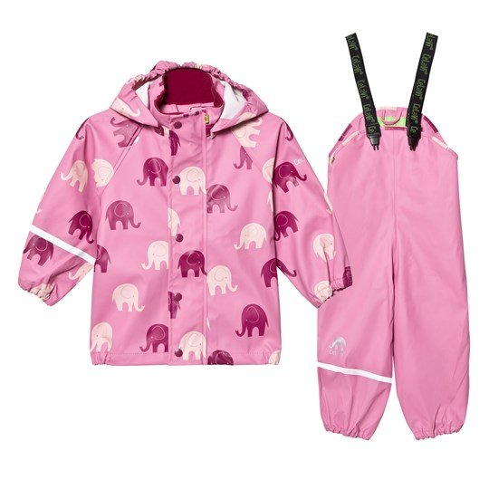 Celavi Printed Rain Set Chateau Rose Chateau Rose