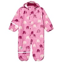 Celavi Printed Rain Suit Chateau Rose Chateau Rose