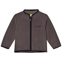 Celavi Fleece Jacket Grey Black