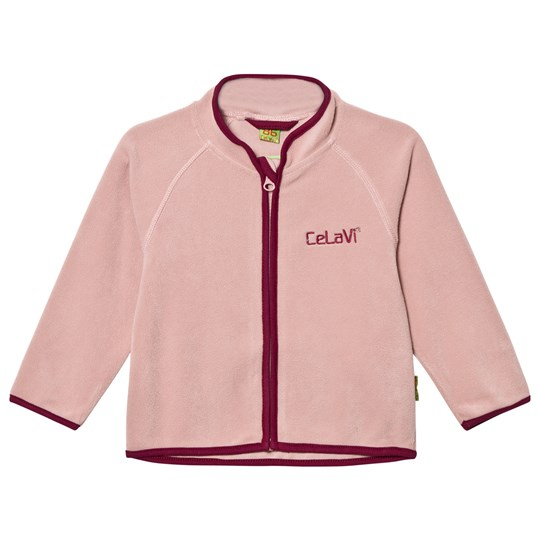 Celavi Fleece Jacka Misty Rose Misty Rose
