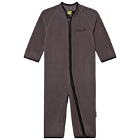 Celavi Fleece Onesie Grey Black