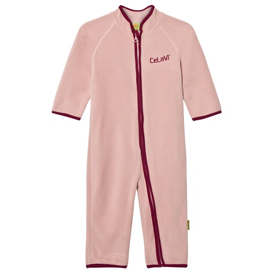 Celavi Fleece Onesie Misty Rose Misty Rose