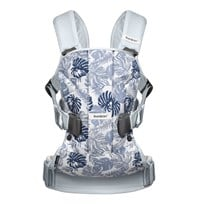Babybjörn Baby Carrier One Leaf Print/Pale Blue Pale Blue