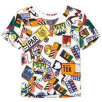 Kenzo Multi All Over Boarding Pass Tee 01