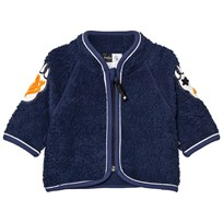 Molo Urvan Fleece Jacket Navy Blue Navy Blue